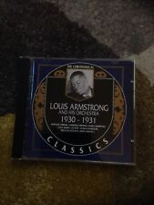 Louis Armstrong - 1930-1931 (1990) CD