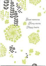 Happy Anniversary Green Velvet Flowers Sweet Memories Hallmark Greeting Card