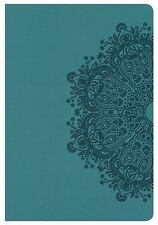 KJV Compact Ultrathin Bible, Teal LeatherTouch (2016, Imitation Leather)