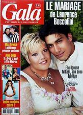 2004: Mariage LAURENCE BOCCOLINI_JULIE ORDON_HELENE SEGARA_BRIAN JOUBERT