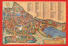 1939 Map New York World of Tomorrow Wall Art Poster Decor Vintage History