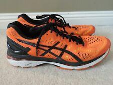 UK 12 EU 47 ASICS Gel-Kayano ORANGE sneakers trainers running fitness shoes