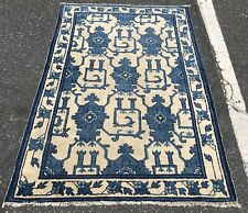 New listing An Awesome Vintage Design Decorative Chinese Rug3'4� X 5'1�