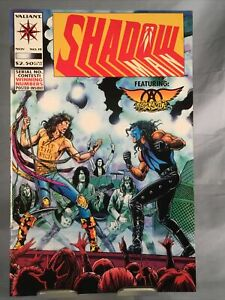 1993 Valiant Comics SHADOW Featuring AEROSMITH #19 Mint