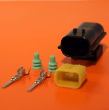 Land Rover Defender NAS Lamp Light Upgrade 2 Pin Connector Plug Kit - WIPAC RDX