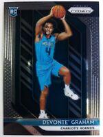 2018-19 Panini Prizm Devante Graham Rookie RC #288, Charlotte Hornets