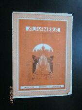 More details for 1925  or 1929 alhambra theatre london variety show programme olive gilbert