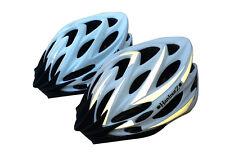 CASCO HardnutZ BICI ROAD Mountain Bicicletta Ciclismo Hi MTB BIANCO NERO Vis NUOVO