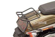 Rack schwarz für Harley Dyna Fat Bob FXDF Bj. 2008-2017 Gepäckträger Rearrack
