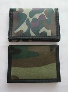 Boys or Teen/Adult Camouflage tri fold Wallet