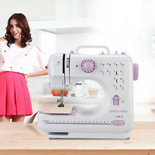 ANMAS 12 Stitches Electric Overlock Sewing Machine Household Sewing Tool-AU