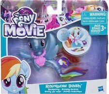 My Little Pony The Movie Seapony Rainbow Dash Children's Christmas Gift BNIB #NG