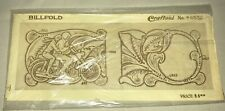 CRAFTAID plastic template leather carving billfold wallet 6532 motorcycle