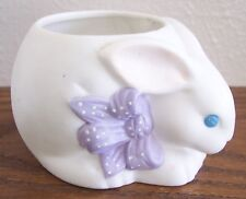 Hallmark Ambassador Bisque Porcelain Easter Bunny Votive Holder