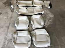 FACTORY OEM CLOTH ORIGINAL TAKE OFF SEAT COVERS SHALE BUICK REGAL 2018
