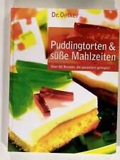 Dr Oetker Puddingtorten & süße Mahlzeiten