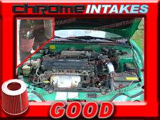 BLACK RED COLD AIR INTAKE KIT FOR 97 98 99-01 HYUNDAI TIBURON/ELANTRA 2.0L I4