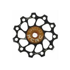 KCNC Jockey Wheel Pulley Ultra Light 10T Shimano Campagnolo SRAM BIKE BLACK