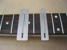 Fingerboard Protectors Fret Guards, For Guitar Bass, Set of 2, Stainless Steel