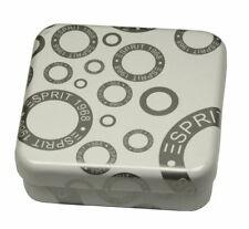 10 Stück Esprit Schmuckbox füer Ringe Ohrringe Schmuckdose Metall-Dose