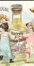 1892 GRAND FORKS, N D HOYTS GERMAN COLOGNE TRADE CARD,  KIDS, NOW  ON SALE TC337