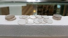 """30 GLASS TABLE TOP 3/4"""" CLEAR DISKS / SPACERS/ CUSHIONS"""