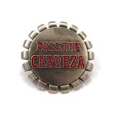 PASS THE CERVEZA Got Beer Beverages Metal Fashion Men Belt Buckle
