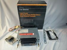 Jcpenney Cassette Tape Car Stereo Player New Open Box 682 0360 Vintage Radio