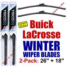 WINTER Wiper Blades 2-Pack Premium - fit 2010+ Buick LaCrosse - 35260/180
