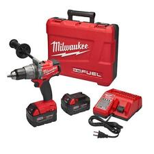 Milwaukee 2704-22 M18 FUEL 1/2-inch Hammer Drill/Driver Kit Bundle