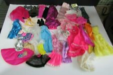 42 Piece Mixed Lot of Barbie Doll & Friends Clothing 80's to Present