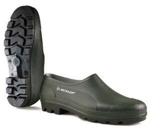 Dunlop Mens Ladies Wellingtons Wellies Waterproof Garden Clogs Boots Shoes  3-11