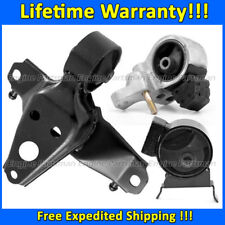 K0249 Engine Motor&Trans Mount 3PCS for MANUAL For 96-99 Toyota Paseo 1.5L