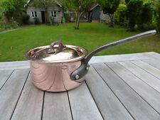 More details for mauviel  copper pan, saucepan