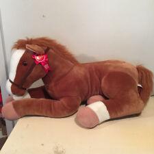 HUGE WELLS FARGO PONY HORSE MACK STUFFED PLUSH JUMBO LARGE GIANT RIDE ON TOY