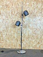 60er 70er Jahre Stehlampe Staff Stehleuchte Floor Lamp Chrom Space Age Design