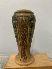 Antique Early Roseville Pottery Florentine Pattern Vase
