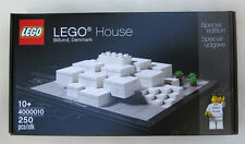 NEW LEGO HOUSE Set 4000010 Billund Denmark architecture & minifig sealed in box