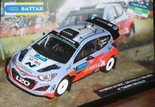 # 1/43 HYUNDAI i20 WRC RALLY FINLAND 2015 #7 NEUVILLE - CODE3 MIB #