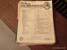 "Beethoven: Album Leaf ""Fuer Elise"", piano solo (Schirmer)"