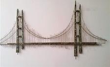 Curtis Jere Signed Golden Gate Bridge Wall Sculpture Brutalist MCM Vintage 1971