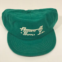 Vintage MADE USA Augusta Pipe Supply Snapback Trucker Style Hat Retro - Hbx#8