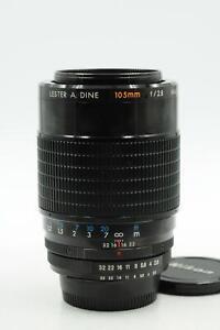 Lester A. Dine 105mm f2.8 Macro Lens 105/2.8 Nikon #501