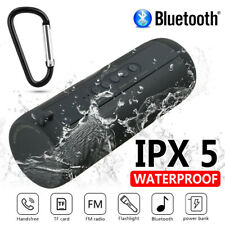 Waterproof Portable Wireless Bluetooth Stereo Music Speaker for iPhone Samsung
