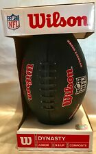 Wilson Dynasty Nfl Junior Composite Football New For Players 9 Years & Older