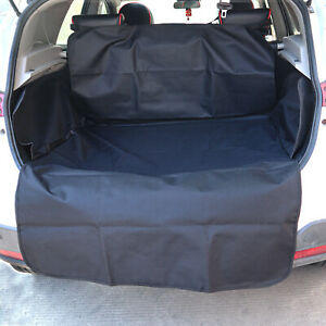2 In 1 Waterproof Car Rear Back Seat Cover  Dog Protector Boot Mat Cargo Liner