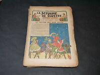 SEMAINE DE SUZETTE DU N° 6 ( 6 JANVIER 1938) AU 5 (29 DECEMBRE 1938)