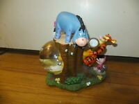 Disney Store Winnie The Pooh Piglet Music Box Water Globe Rumbly In My Tumbly