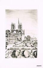 BIBESCO : CATHERINE PARIS. 30 POINTES SECHES DE CERIA. EX NUM / JAPON + 2 SUITES