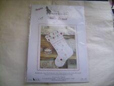 """Kit boutis """"Botte de Noël"""" de marque Un chat dans l'aiguille neuf emballé"""